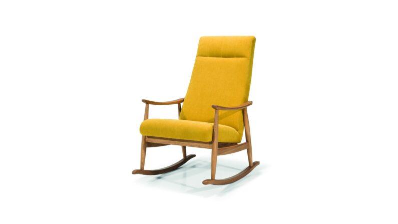Fotel bujany Perla